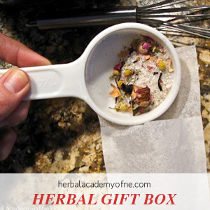 Make an Herbal Gift Box ~ a Collection of Herbal Remedies
