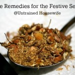 Herbs and Home Remedies for the Holidays