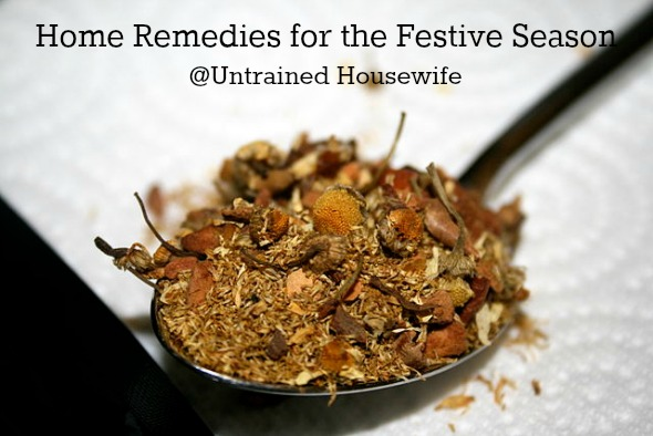 holiday home remedies