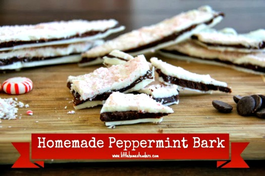Homemade Peppermint Bark Recipe