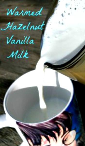 Warmed Hazelnut Vanilla Milk Recipe