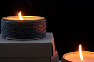 How to Make DIY Winter Candles