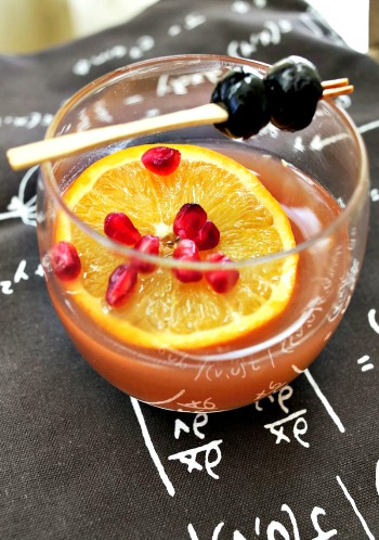 Winter Fruit Whiskey Smash Recipe