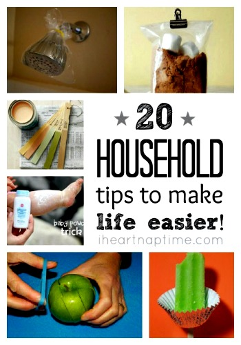 20 household tips