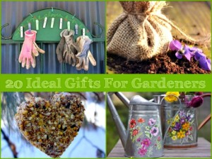 20 Ideal DIY Gifts For Gardeners