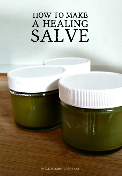 How to Make a Healing Salve