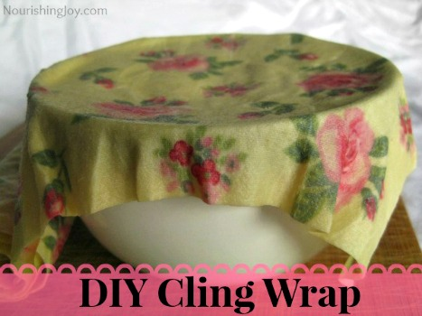 How to Make Homemade Cling Wrap