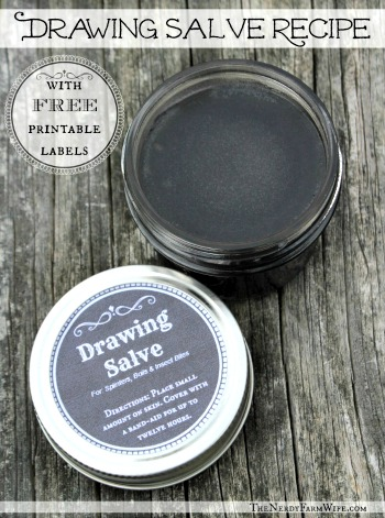 Homemade Drawing Salve Recipe