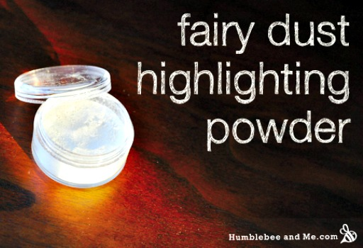 How to Make a Fairy Dust Highlighting Powder