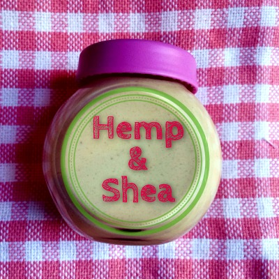 How to Make Homemade Hemp & Shea Cream