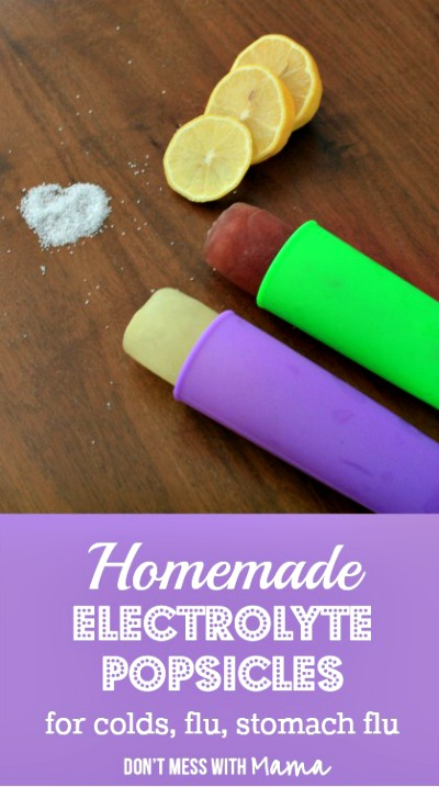 Homemade Electrolyte Popsicles Recipe