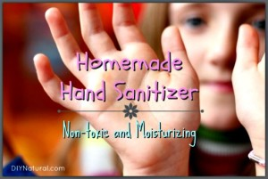 How To Make Natural Moisturizing Hand Sanitizer