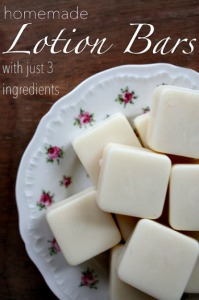 Homemade Lotion Bars – 3 Ingredients, All-Natural