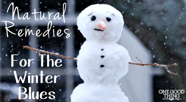 Feeling S.A.D.? ~ 5 Natural Remedies For The Winter Blues