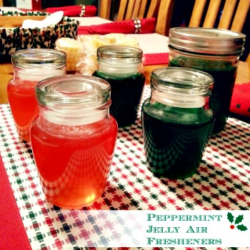 How to Make  Peppermint Essential Oil Jelly Air Fresheners