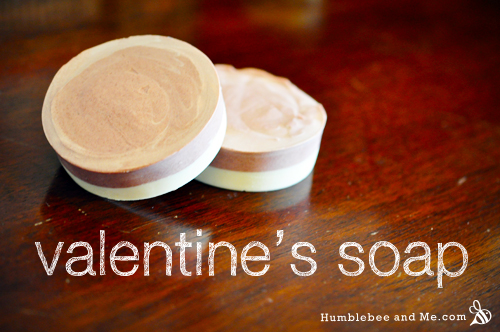 How to Make Rose & Pink Grapefruit Valentine's Soap