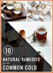 10 Natural Remedies for the Common Cold