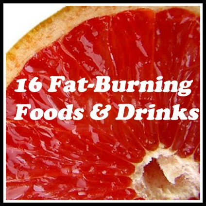 best fat-burning foods, best fat-burning drinks