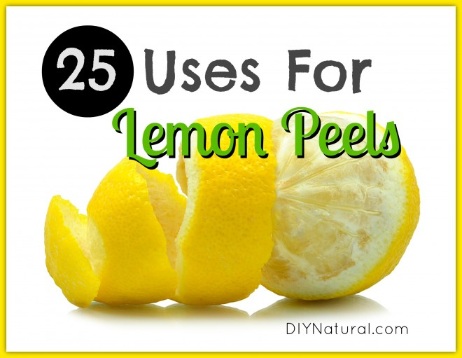 25 Fabulous Uses for Leftover Lemon Peels