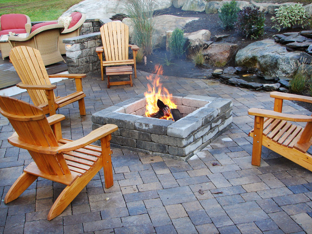 best fire pit ideas, best outdoor fireplace ideas