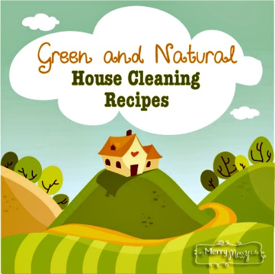 Green and Natural House Cleaning Recipes and Buying Guide