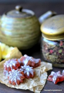 best homemade herbal cough drop, hibiscus lemon cough drop, best herbal cough remedy