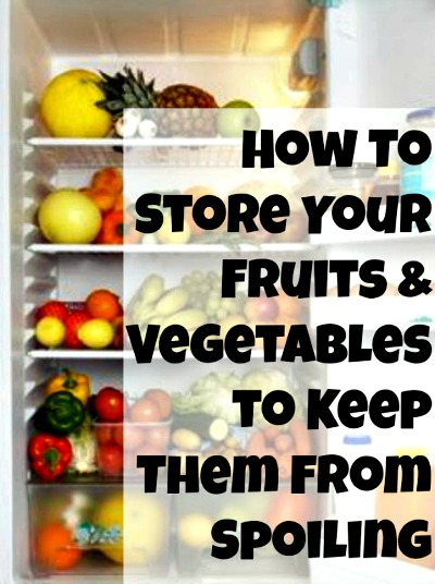 best way to store fruit, best way to store vegetables, how to save money