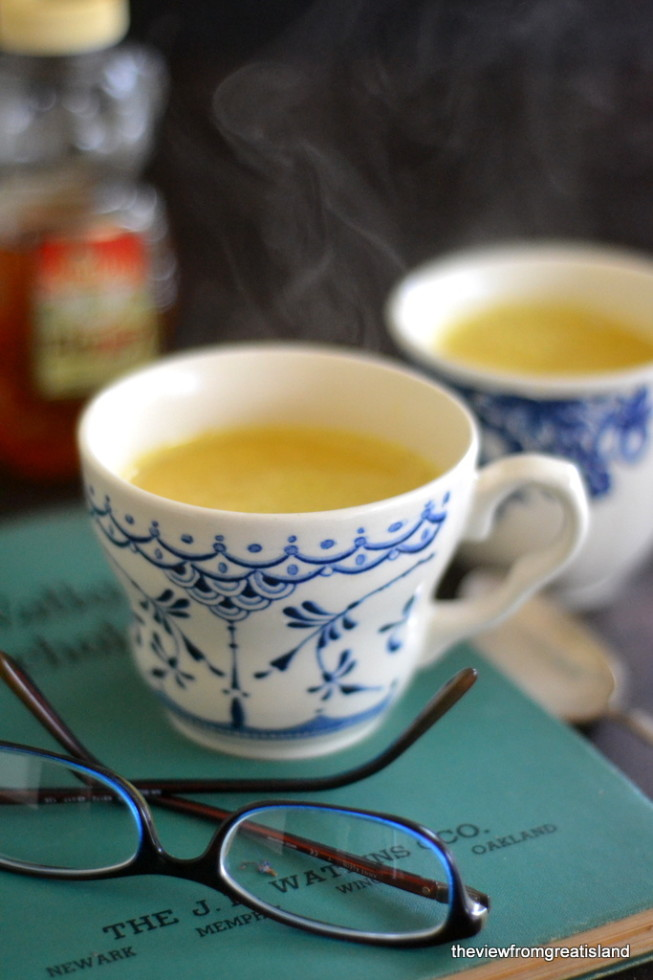 Homemade Turmeric Tea Recipe