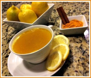 How to Make Morning Warm Water & Lemon With A Turmeric Twist