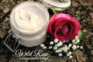 How to Make Wild Rose Body Butter