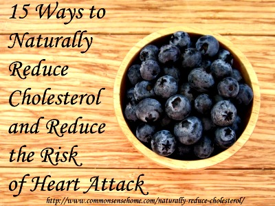 15 ways to naturally reduce cholesterol