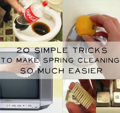 simple spring cleaning tips, best spring cleaning tips