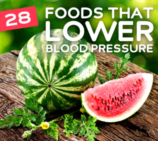 best foods to lower blood pressure