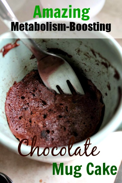 Amazing Metabolism-Boosting Chocolate Mug Cake Recipe