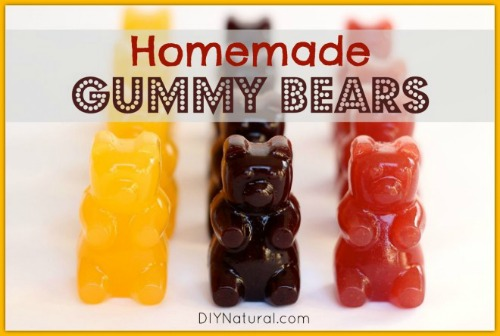 Homemade Gummy Bears: A Healthy Snack Idea