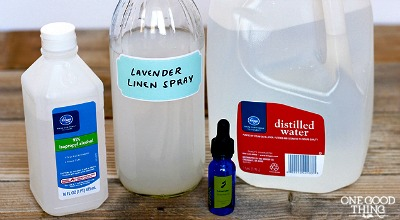 best lavender recipe, lavender linen spray