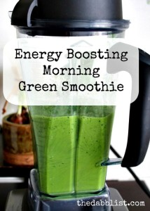 best energy smoothie, best green smoothie