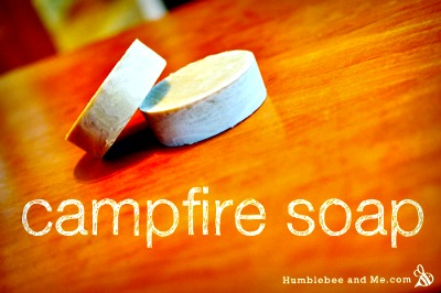 How to Make Homemade Campfire Soap