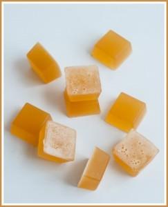 Homemade All-Natural Lemon Ginger Fruit Gummies Recipe