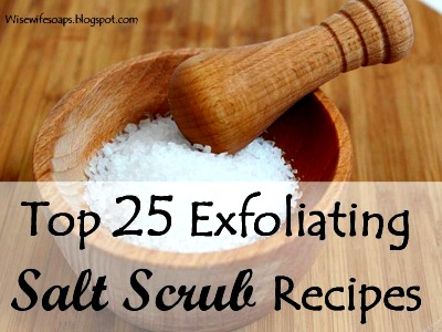 Best Exfoliating Salt Scrub Recipes