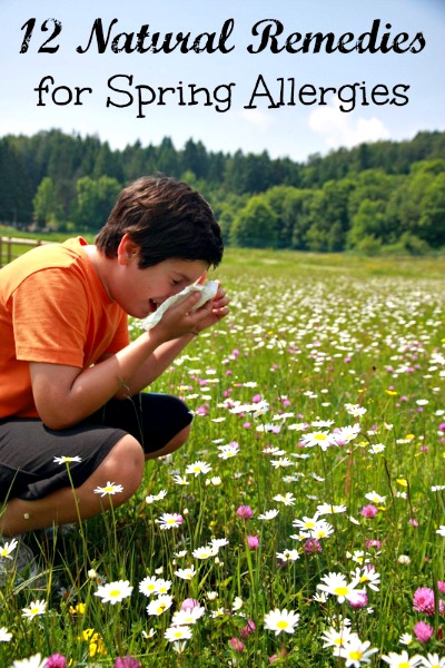 12 Natural Remedies for Springtime Allergies