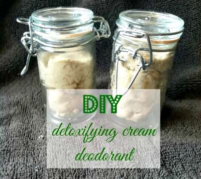 DIY Detoxifying Deodorant Cream Recipe