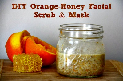 DIY Facial Scrub and Mask Recipe