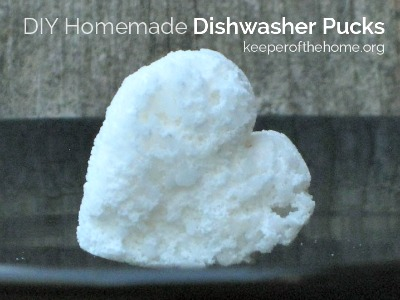 DIY Homemade Dishwasher Tablet Recipe