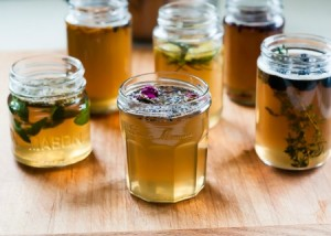 Flower + Fruit Infused Syrups Plus A Spring Cocktail Recipe