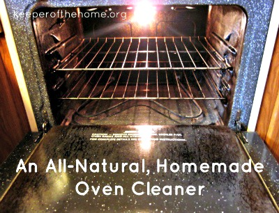 How to Make An All-Natural, Homemade Oven Cleaner