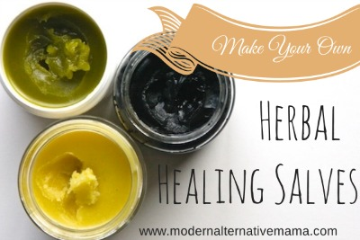 How to Make Your Own Herbal Healing Salves