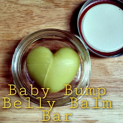 How to Make a Baby Bump Belly Balm Bar