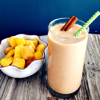 How to Make an Energizing Ginger Mango Chai Smoothie