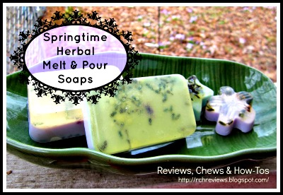 How to Make Springtime Melt & Pour Herbal Soaps (Recipes)